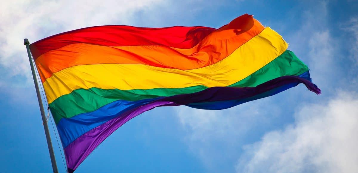 Rainbow Flag Amsterdam Gay Pride scaled