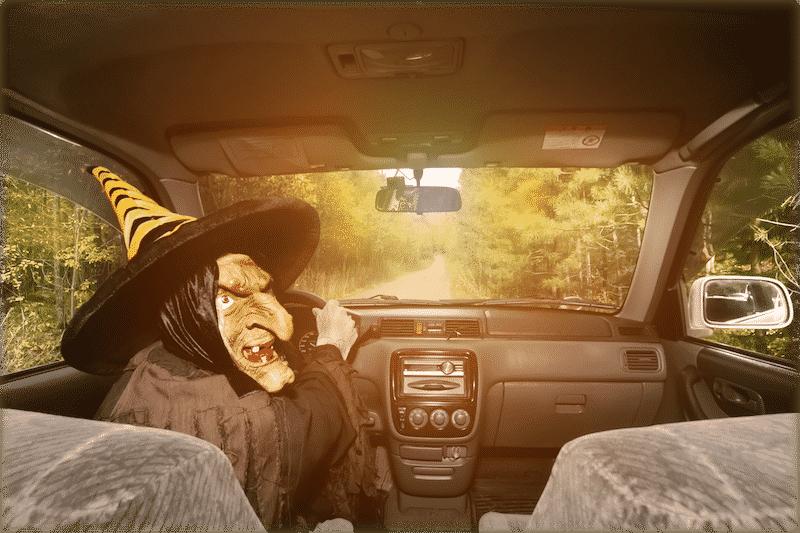 Halloween Taxi