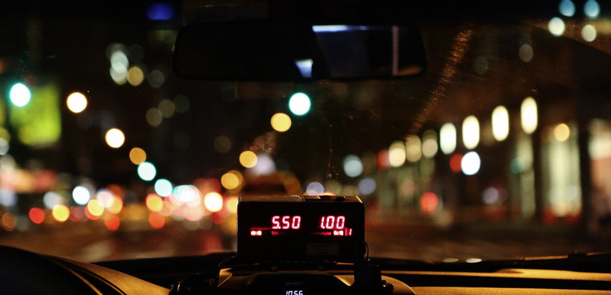 A taximeter how does it actually work scaled