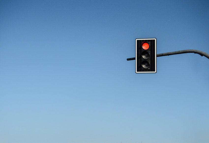 Stoplicht taxi met een tussenstop scaled