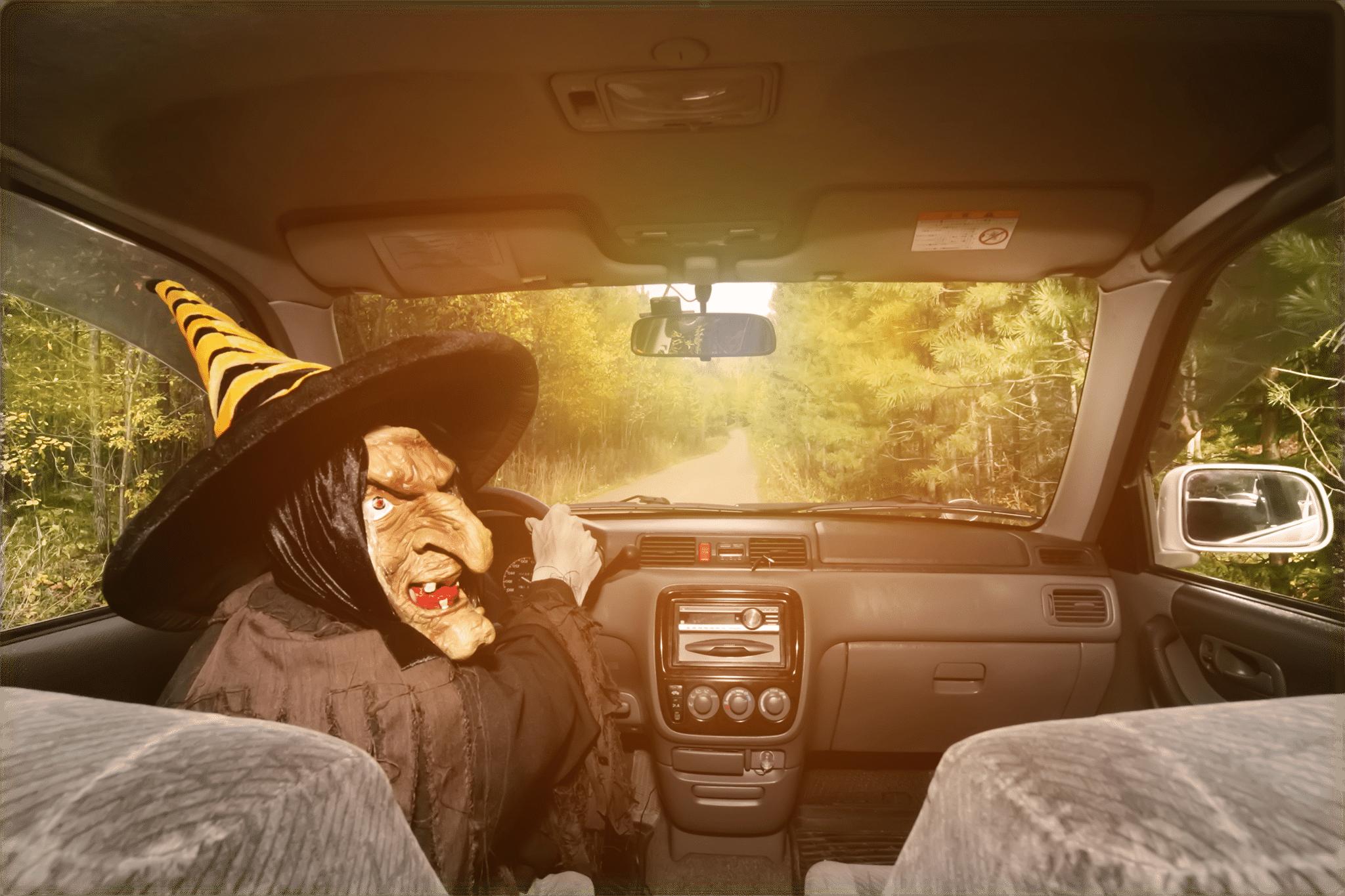 Staxi Halloween Taxichauffeur